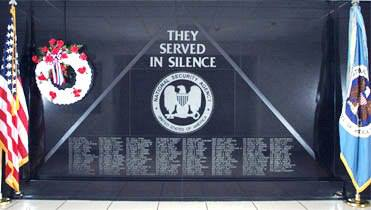 NSA Memorial Wall 2